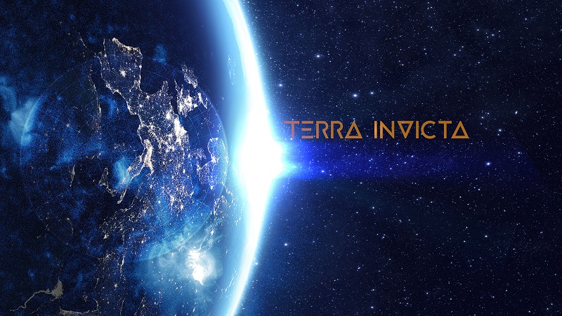 Terra Invicta Title Screen - Features Link